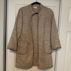 Chico's tweed coat/blazer in size 1